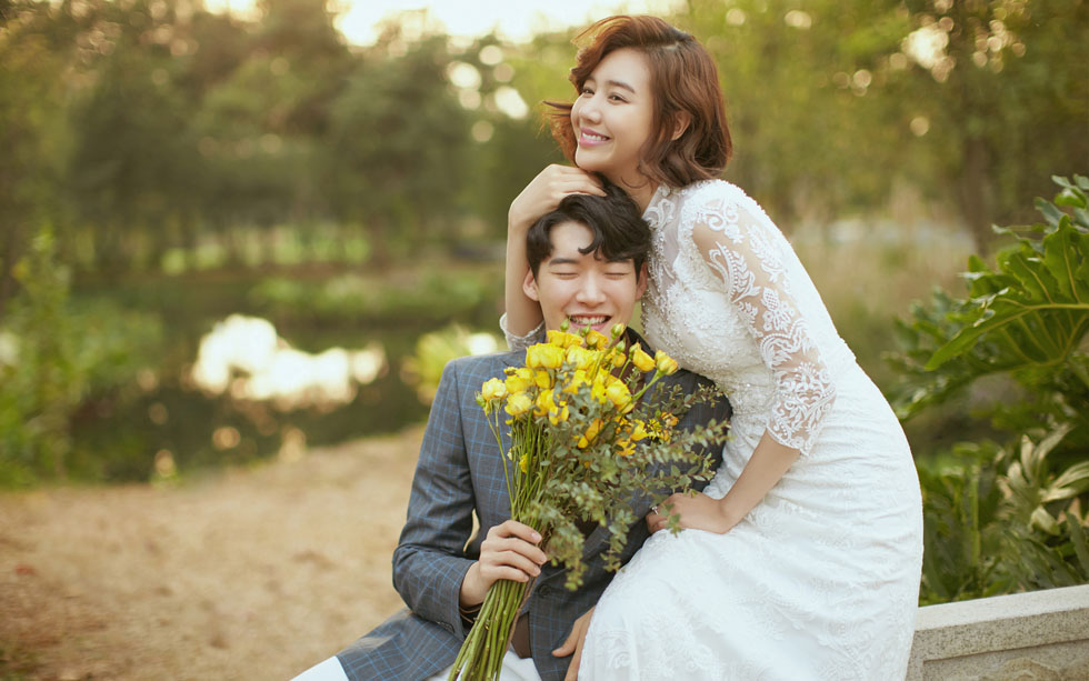 兰州花季公园婚纱摄影