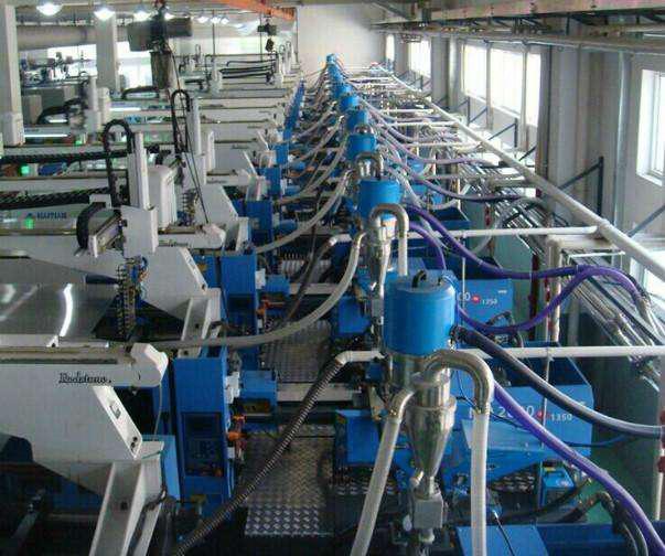 蘭州注塑集中供料系統