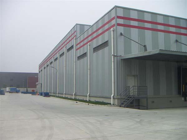 兰州大型钢结构厂房工程加工