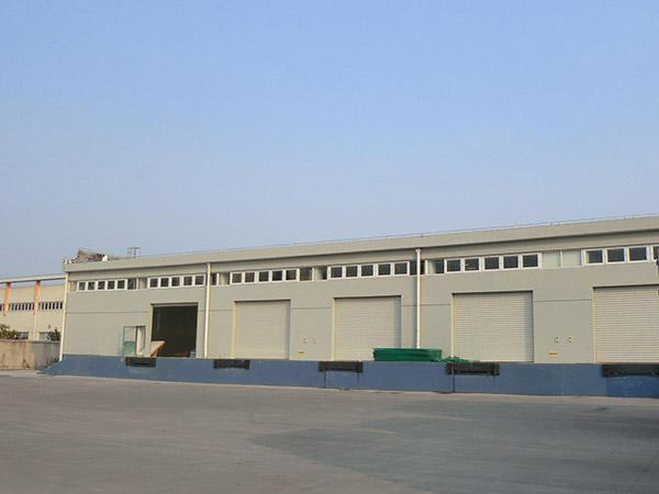 钢结构冷库厂房施工