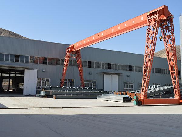 北龙口建材城钢结构建筑工程