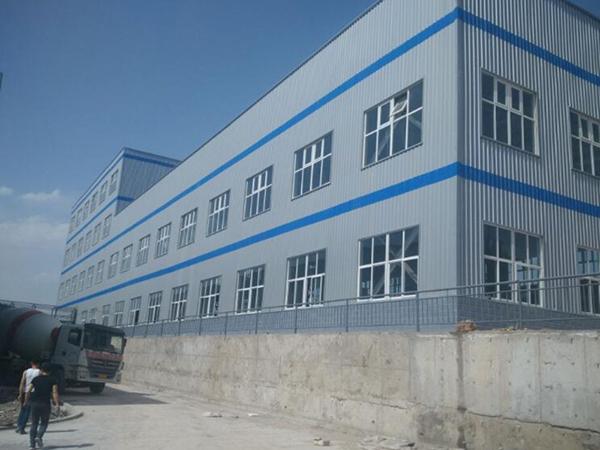 红古区窑街宝蓝公司钢结构工程