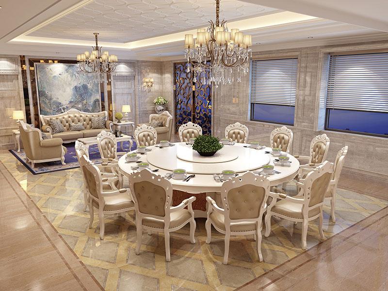 如何选择酒店餐桌椅