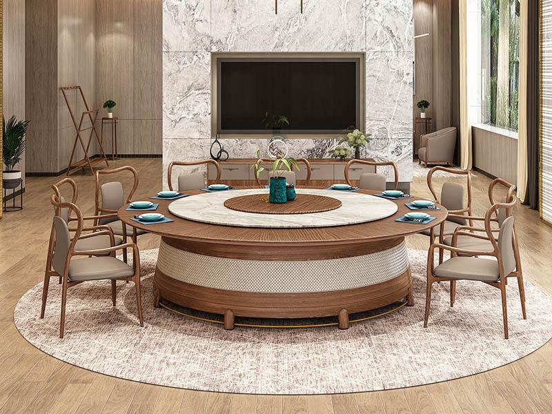 现代风格电动餐桌
