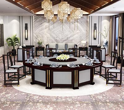 新中式餐饮家具