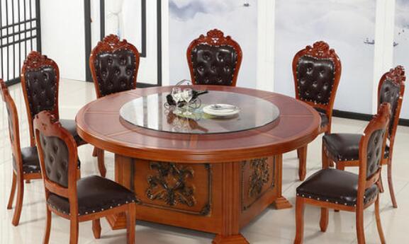 新中式酒店包间餐桌椅