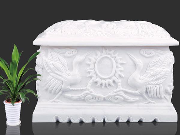 汉白玉骨灰盒