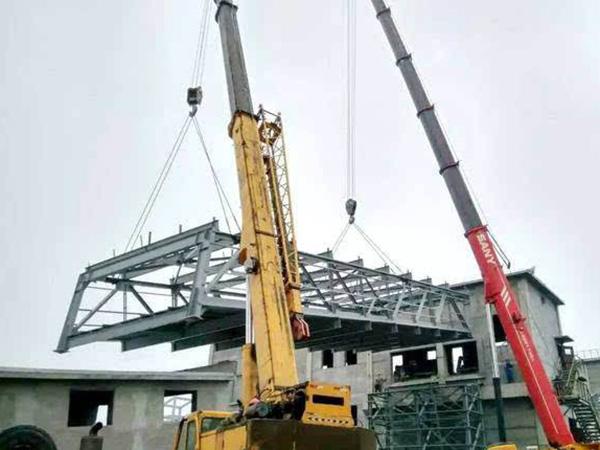 钢结构报价吊装费