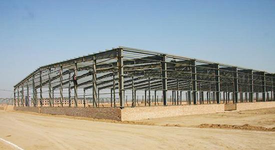 青海西宁物流车间钢结构厂房设计