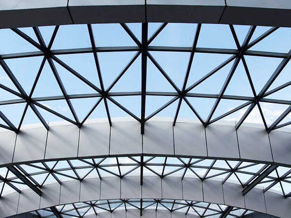 钢结构雨棚方案