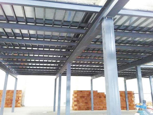 钢结构平台施工方案