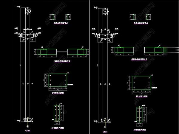 钢结构厂房设计图纸大全