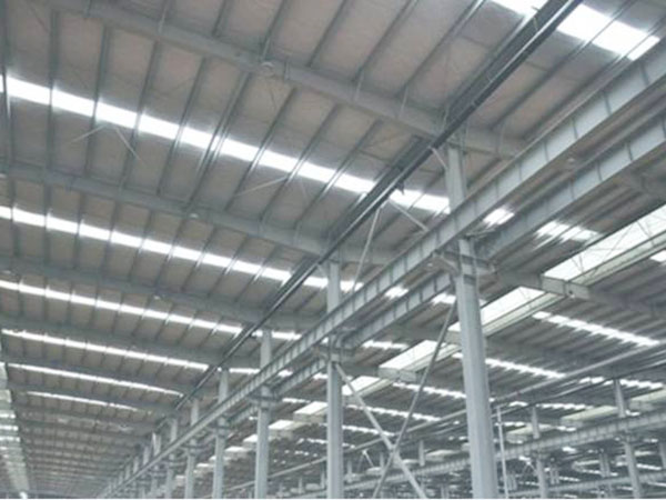 钢结构屋面板安装工程