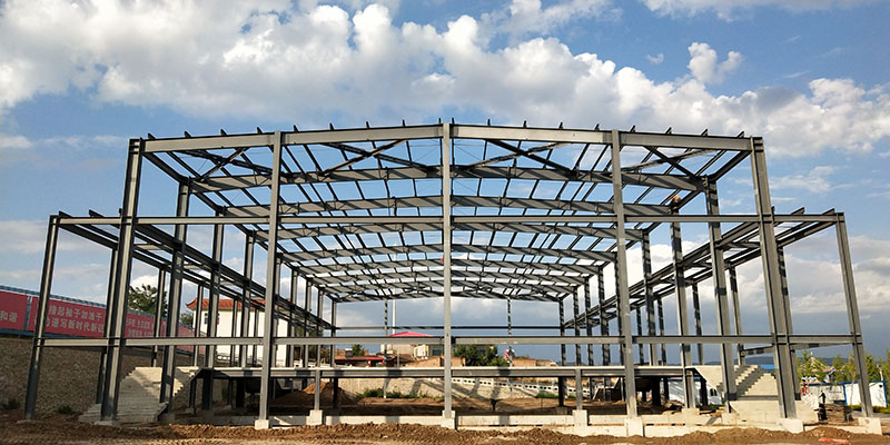 榆中村委会钢结构制作安装