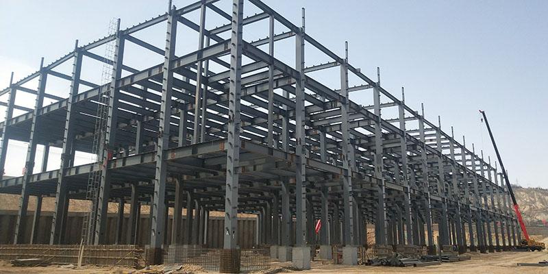 陆港物流中心钢结构制作安装