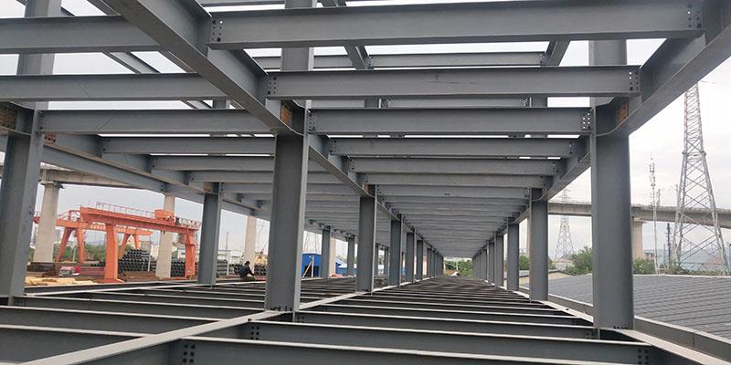 三层钢结构框架办公楼