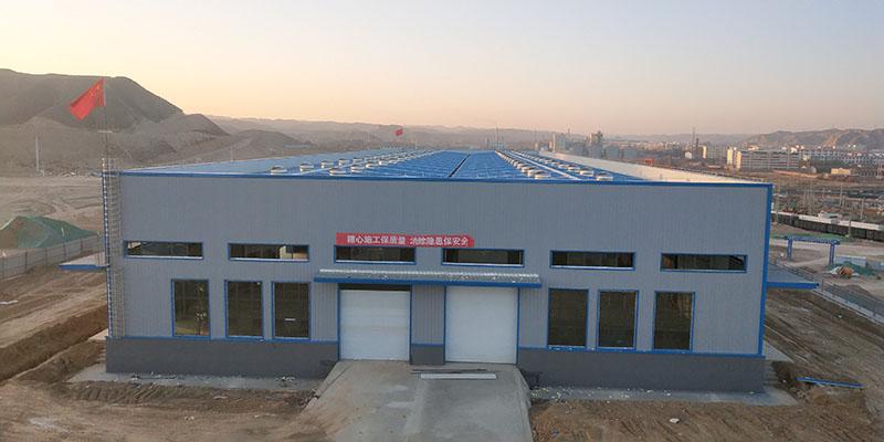 物流中心钢结构厂房