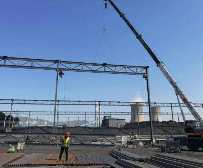 兰州钢结构厂房施工公司分享钢结构吊装准备工作