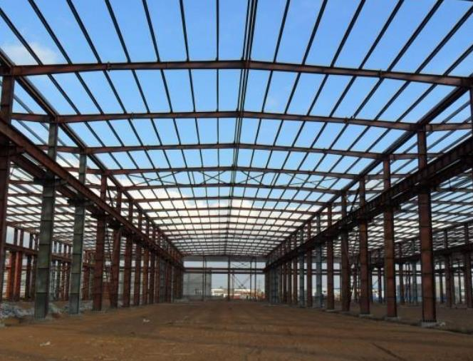 白银钢结构厂房安装