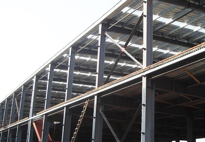 定西双层钢结构厂房