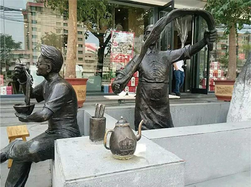 人物鑄銅雕塑