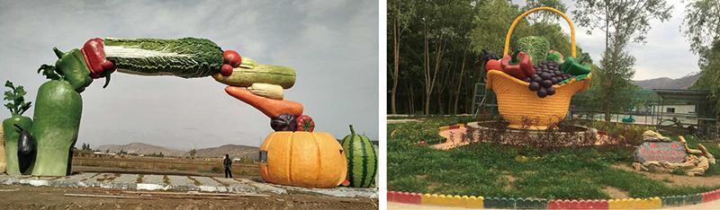 兰州蔬菜基地仿真景观德赢vwinac米兰加工