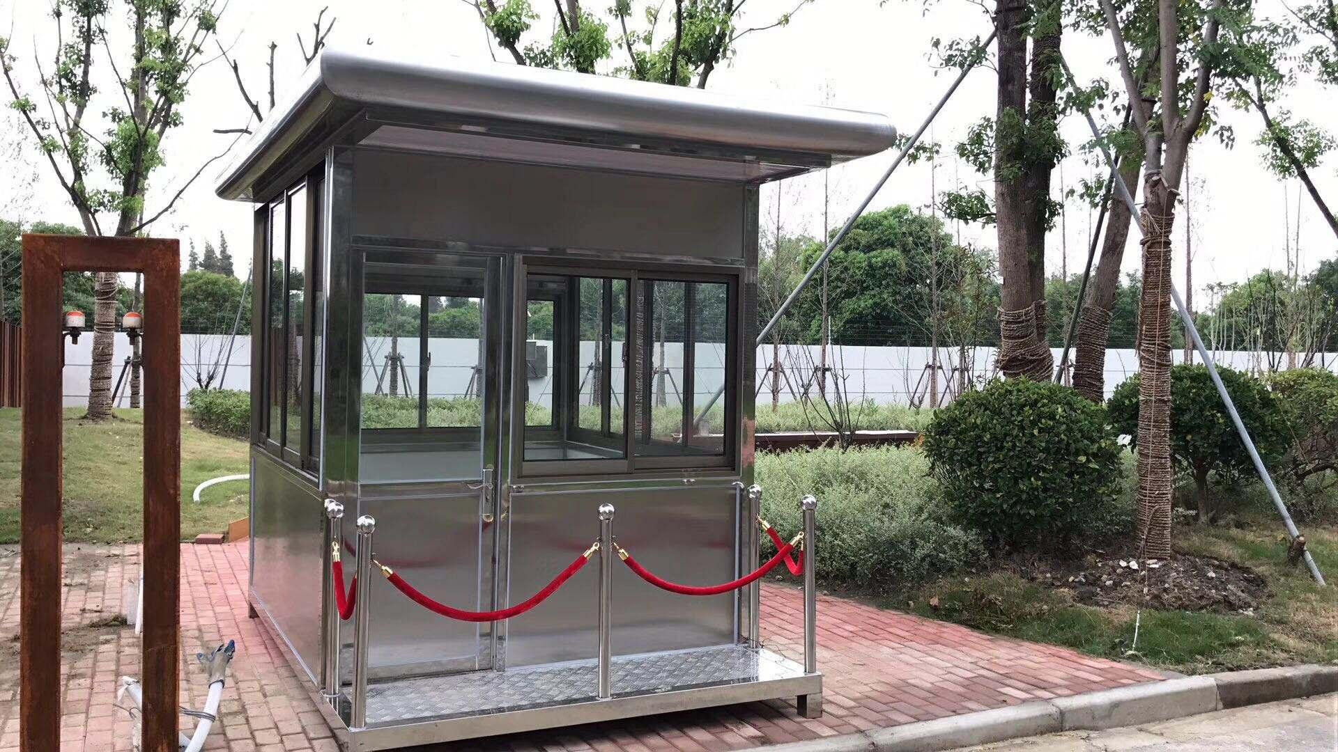 蘭州站臺崗亭設計