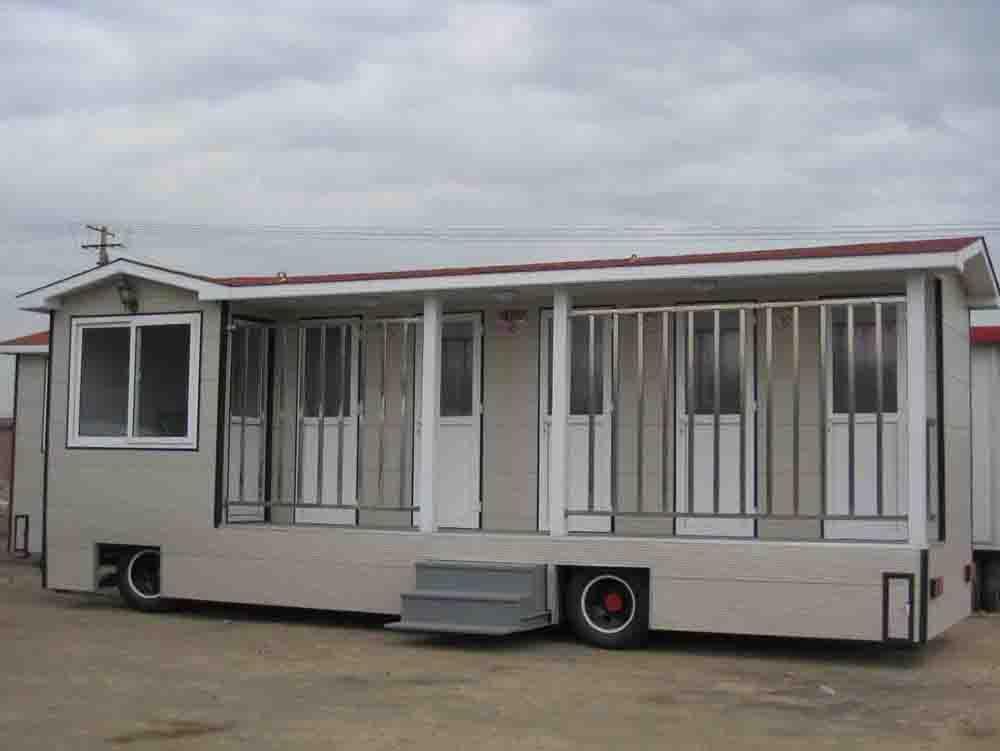 兰州拖车式公厕