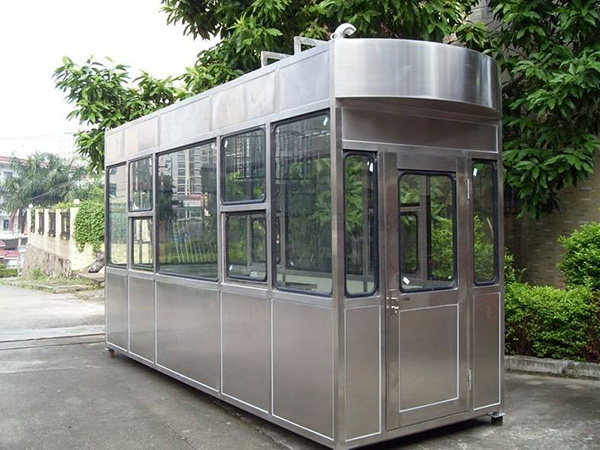 甘肃兰州岗亭移动环保厕所生产厂家