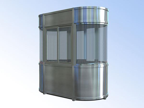 不锈钢收费岗亭