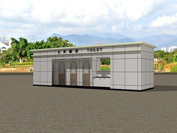 豪华景区厕所