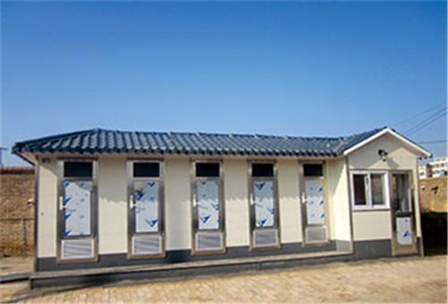 环保厕所,移动卫生间的焊接组成框架型结构跃创科技来普及