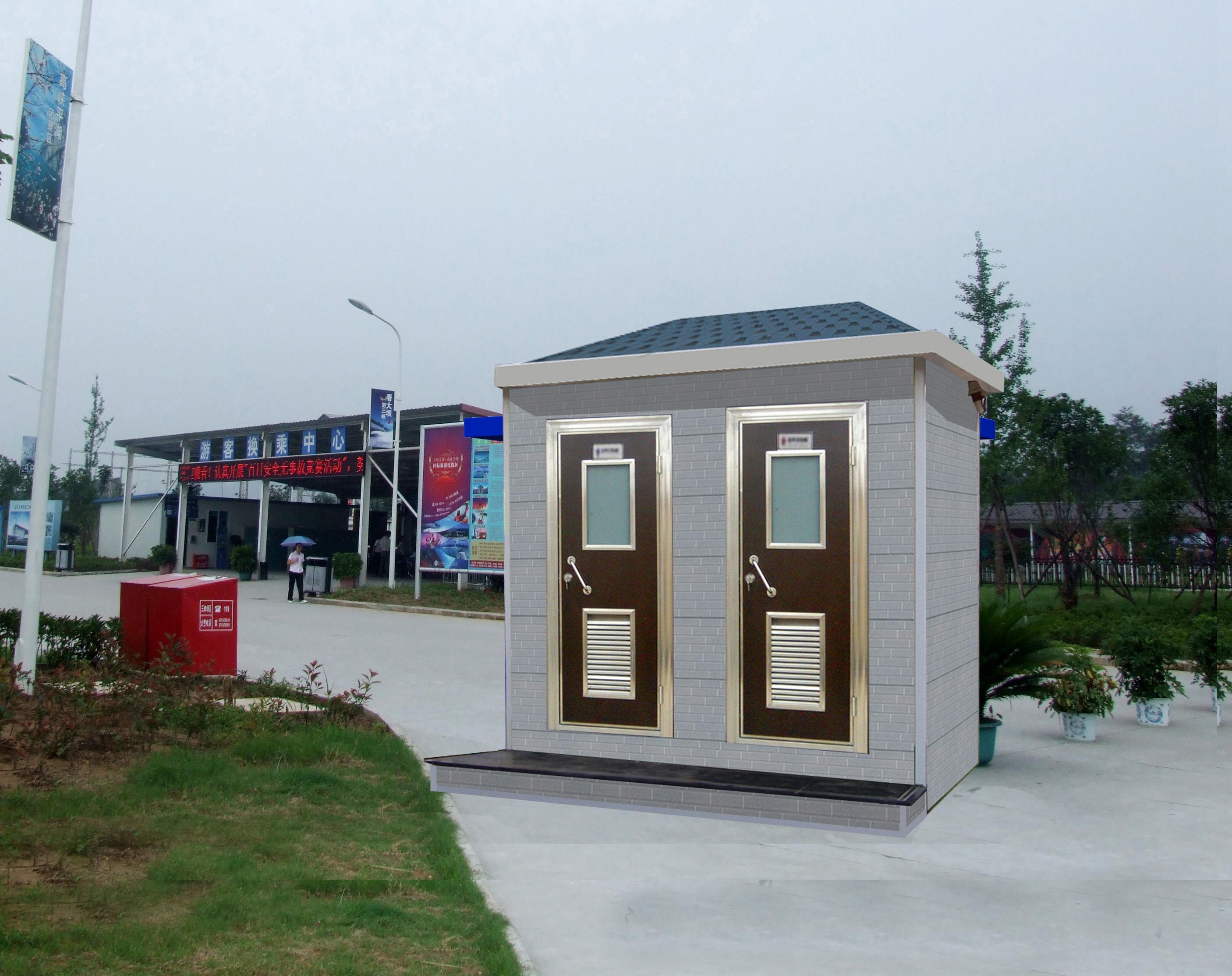 甘肃移动厕所兰州移动卫生间环保公厕生产是跃创科技的拳头产品
