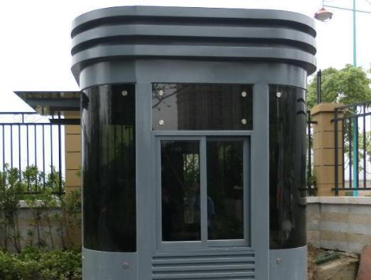 不锈钢岗亭厂家带您了解不锈钢岗亭的设计特点