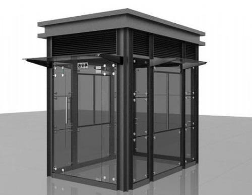 岗亭厂家简述不锈钢岗亭的保养维护方法