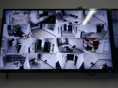 安防監控系統在成縣公安局看守所安裝案例