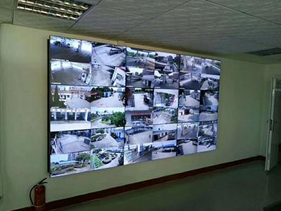 蘭州電纜城安防監控系統工程