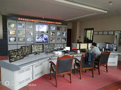 蘭州眾邦電線電纜集團電纜城安裝安防監控系統案例