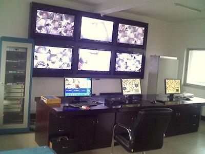 西和縣看守所安防監控系統安裝工程