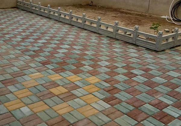 关于陶瓷透水砖路面环保性的探求分享