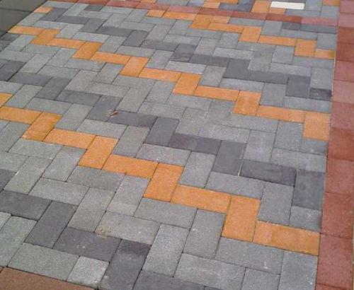 兰州庭院水泥砖