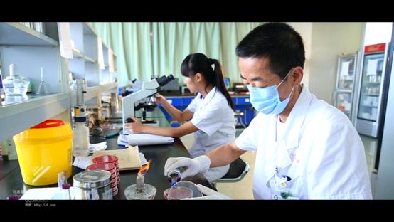 2013年甘肃省临床检验中心宣传片拍摄作品