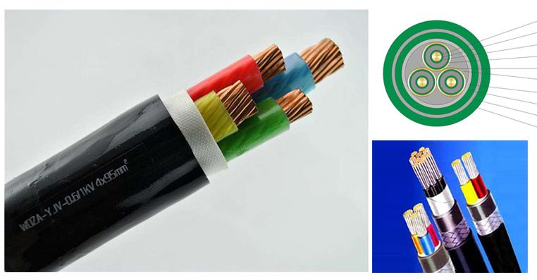 聚乙烯绝缘中压电力电缆