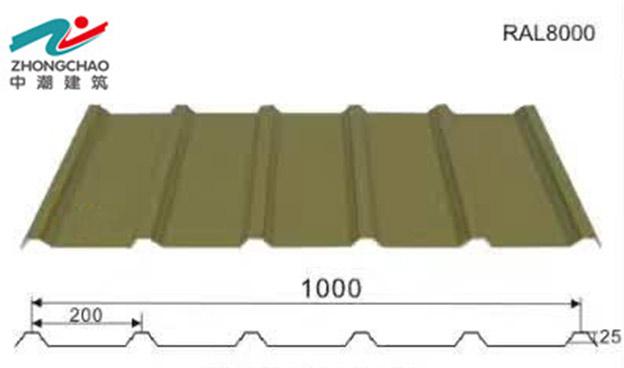 甘肅屋面彩鋼板