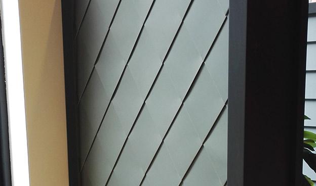 鈦鋅板金屬幕墻