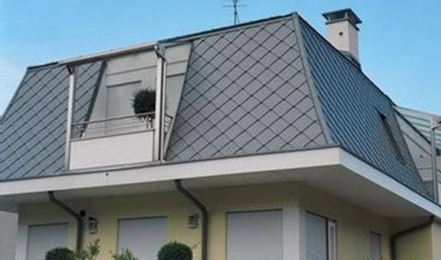 鈦鋅板屋面