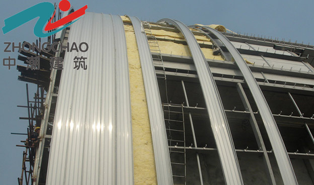 杭州市民中心屋面工程