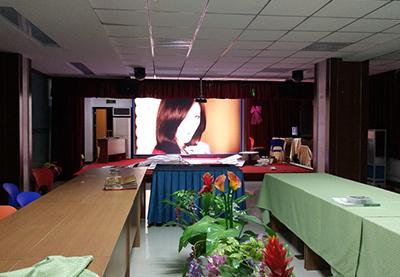 智能LED显示屏亮相广告博览会