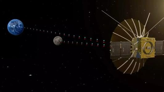 """嫦娥四号中继星""""鹊桥""""火箭升空,甘肃led显示屏公司为您报道""""鹊桥""""任务全程信息。"""