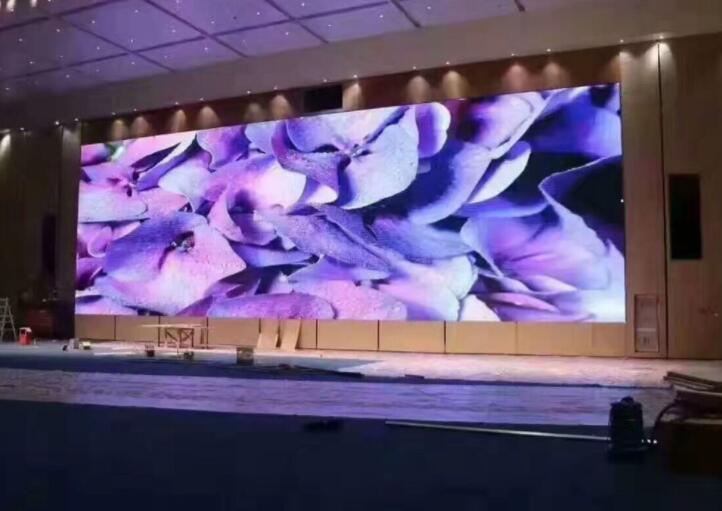 大型舞台LED电子显示屏安装